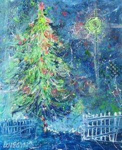 England Christmas Tree.A German Princess Introduced England To Christmas Trees